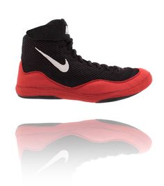 184c3976eabeb Nike Inflict 3 - Red / Black Wrestling Shoes Scarpe Wrestling, Nike Free,  Negozio