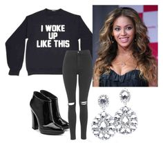 """Beyonće inspired Outfit❤ flawless"" by ellakonst ❤ liked on Polyvore"
