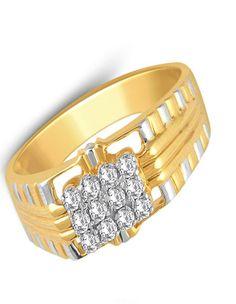 Duo Tone Diamond Ring   diamonds4you.com