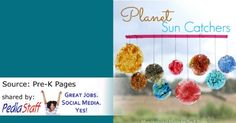 Planet Sun Catchers- pinned by @PediaStaff – Please Visit  ht.ly/63sNt for all our pediatric therapy pins