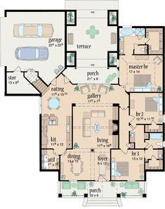 Plan de maison moderne, contemporaine et design - Plan maison ...