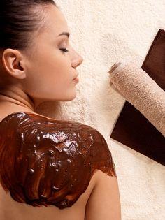 Forfait Choco: – Bain thérapeutique ( 20 minutes ) – Enveloppement au chocolat – Massage de 1 heure #chocolat #cocooning #bienetre