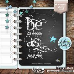 Printable Planner Insert, Printable Pages, Planner Quotes, Erin Condren, Planner Divider, Planner Dashboard, Kawaii Planner, Divider Kawaii