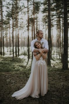 This intimate forest wedding was styled to the nines   Image by Linda Lauva Photography