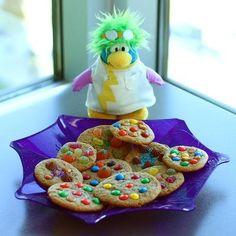 Halloween Cookies - Kid Recipes | Club Penguin