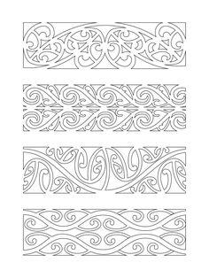 hawaiian Designs And Patterns | Maori Designs Kowhaiwhai Patterns Hawaii Dermatology #Marquesantattoos