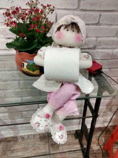 #Boneca porta papel higiemivo arte de la