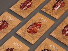 Delicioso branding de 3 tipos gráficos  #packaging #graphicdesign #Branding