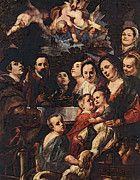 "New artwork for sale! - "" Self Portrait Among Parents Brothers And Sisters  by Jacob Jordaens "" - http://ift.tt/2qnnW23"