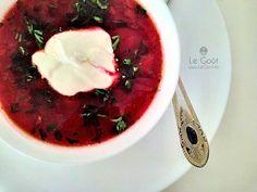 Ciorba de sfecla rosie (ca la mama acasa) - (Beetroot ciorba) Romanian Food, Food Obsession, Supe, Meals, Recipes, Names, Meal, Recipies, Ripped Recipes