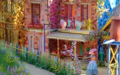 """""""Meu Pedacinho de Chão"""" (""""My Little Patch of Land"""", Brazilian soap opera), a reboot by Benedito Ruy Barbosa, is a fantastical tale about a small town seen through a child's eyes. Workers stitch lavish and colorful costumes and build intricate sets on site."""