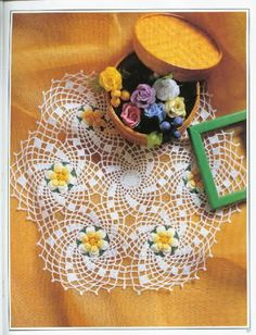 World crochet: Napkin 320