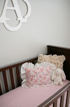 Amelia's Shabby Chic Nursery | The Little Umbrella