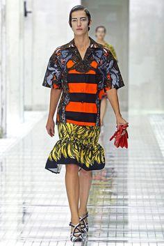 Prada Spring 2011 Ready-to-Wear Fashion Show - Diana Dondoe