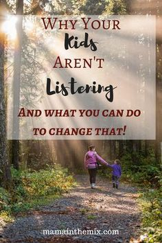 In this post you will read top tips on why your kids won't listen to you. You will be able to implement these tips and be the parent you want to be. Gone are the days where you have to battle them to listen. #parentingtips, #getyourkidstolisten, #ideastogetyourkidstolisten.