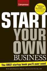 Start Your Own Business, 5th Edition from the Entrepreneur Business Bookstore.