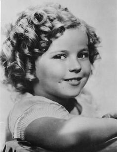 Child movie star Shirley Temple, at age 8, in Hollywood, Calif.