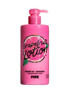 Grapefruit Lotion Hydrating Body With Coconut Oil #BODY #coconut #grapefruit #hydrating #lotion #Oil Bath N Body Works, Bath And Body, Victoria Secret Body Spray, Victoria Secret Pink, Perfume Body Spray, Victoria Secret Fragrances, Pink Grapefruit, Body Lotions, Smell Good