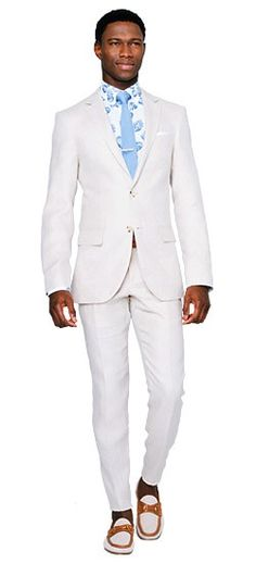Level up your linen game with the Sand Herringbone Linen Suit. You can take its refined look and well structured fabric anywhere Linen Suit, Modern Man, Custom Clothes, Herringbone, Men Dress, Suit Jacket, Suits, Fabric, Game