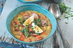 Polévka žurek Thai Red Curry, Ethnic Recipes, Food, Essen, Meals, Yemek, Eten
