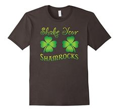 $15.99 Shake Your Shamrocks Shirt for Women Men Kids ~ Funny Saying Small Asphalt St Patricks Day Shamrocks Clover T-shirts http://www.amazon.com/dp/B01CN826WG/ref=cm_sw_r_pi_dp_C203wb1PYVZQW