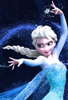 This is me (Lisa Stokke.) No really! I am the Norwegian voice of the Snowqueen Elsa in Norway, and the film is set and based in Norway which makes this especially special for me