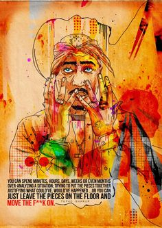 Tupac (Just Move On) | Inkquisitive Illustration