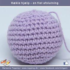 Lær at hækle - en flot afslutning - fint skal det være Diy And Crafts, Crochet Hats, Blog, Knitting Hats, Blogging
