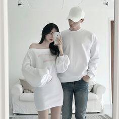 Pop Punk Fashion, Teen Fashion Outfits, Edgy Outfits, Korean Outfits, Cute Outfits, Rock Outfits, Fashion Dresses, Matching Couple Outfits, Matching Couples
