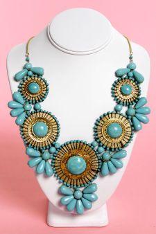 Neptunes Treasure Turquoise Necklace