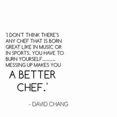 Chef quote More