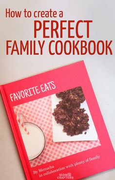Make a family cookbook to preserve those favorite recipes! Here are tips on how to make it epic, and why it's a great gift idea! (ad)