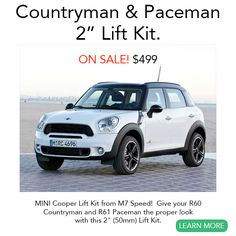 http://new.minimania.com/part/G2NMS2510/Mini-Countryman-Lift-Kit-R60-Countryman-R61-Paceman-2-Inches?utm_source=main-newsletter&utm_medium=email&utm_campaign=dealing-with-rust&utm_content=promo-image