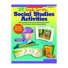 25 TOTALLY TERRIFIC SOCIAL STUDIES