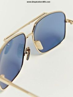 Dita Baron Twelve Carat Gold Frame Sunglasses