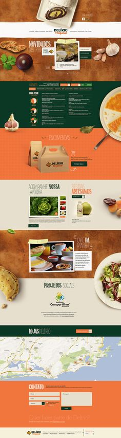 delírio tropical | #webdesign #it #web #design #layout #userinterface #website #webdesign < repinned by www.BlickeDeeler.de | Visit our website www.blickedeeler.de/leistungen/webdesign