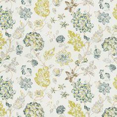 Warwick Fabrics : ALEXIA, Colour BLUEBERRY