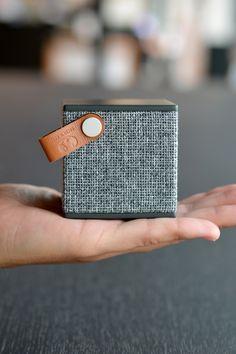 Fresh 'n Rebel | Rockbox Cube Fabriq Edition | Stylish wireless Bluetooth speaker.