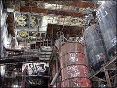 Abandoned chemical factory of Rudersdorf by atomhirsch via Flickr