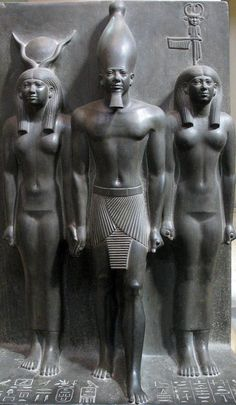 Pharaoh King Menkaure , builder of the great third pyramid of Giza