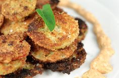 Fried Green Tomatoes with Smoky Mayo Recipe on Yummly