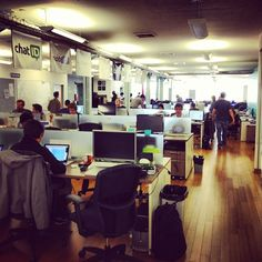 TechStars NYC (formerly @foursquare's old digs) via @bijan
