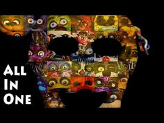 I Took 1 Frame From Every Fnaf Jumpscares And Combine Them