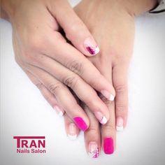 Metamorphose #trannails #nageldesign #nagelstudioerbach #nailart #wallofnails #gel #manicure #french