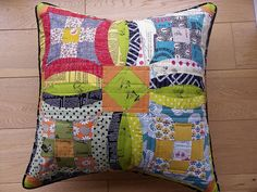 Pillow Talk {Swap} - Round 7 by Little Island Quilting, via Flickr