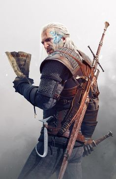 The Witcher 3 Wild Hunt Geralt Contract by Scratcherpen on @DeviantArt