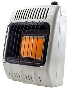 Mr. Heater Corporation Vent-Free 10,000 BTU Radiant Natural Gas Heater, 10000, Multi Natural Gas Wall Heater, Propane Cylinder, Portable Heater, Blue Flames, Fireplace Accessories, Radiant Heat, Cold Day, The Help, Indoor