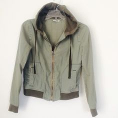 OLIVE GREEN BP JACKET Great condition. Size XS. NO TRADES OFFERS WELCOME bp Jackets & Coats Utility Jackets
