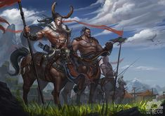 Centaur Warriors