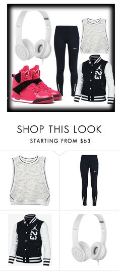 """""""Untitled #146"""" by vashtilink on Polyvore featuring RD Style, NIKE, Jordan Brand and Beats by Dr. Dre"""